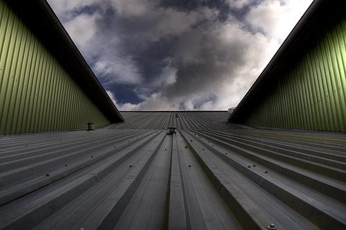 Gymnasium rooftop