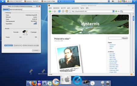 Mac OS X look and feel for Windows XP