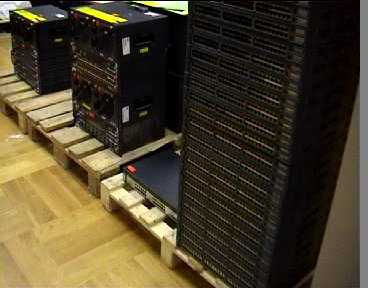 21C3 Network Equipment Delivery