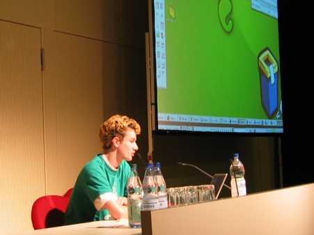 21C3: Sven Herzberg über Gnome Anwendungsentwicklung