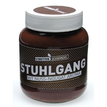 Stuhlgang Nutella