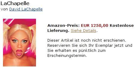 Lachapelle: 1250 Euro