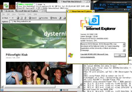 Internet Explorer unter Linux