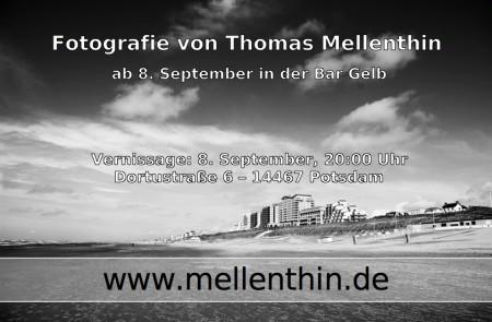 Flyer Fotoausstellung