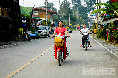 Chiang Khong main road
