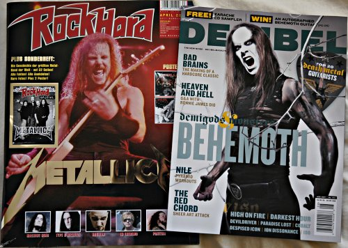 Rock Hard / Decibel Magazine