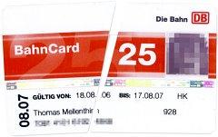 Bahncard kündigen trotz abgelauferner Kündigungsfrist