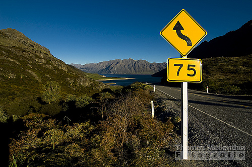 Makarora Lake Hawea Road